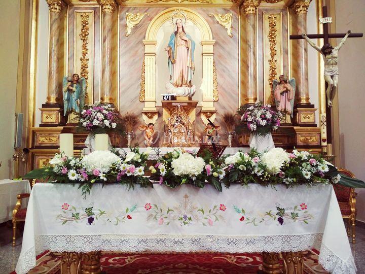 Altar en Barrio Peral (Cartagena)
