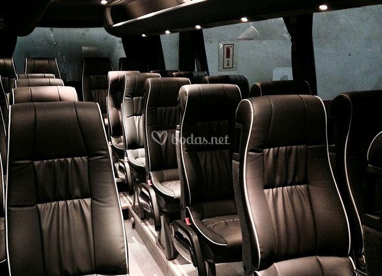 Interior vehículo