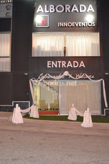 Entrada para bodas