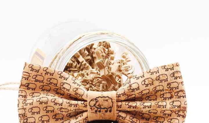 Pajarita corcho artesanal