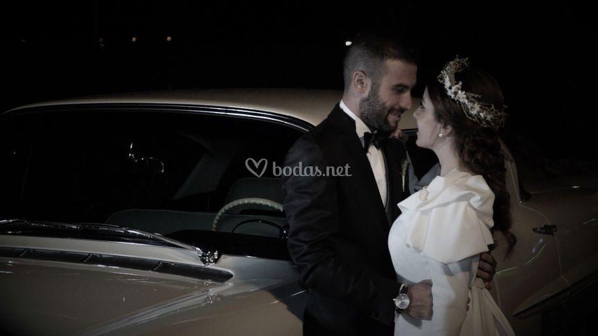 Video de boda en exterior