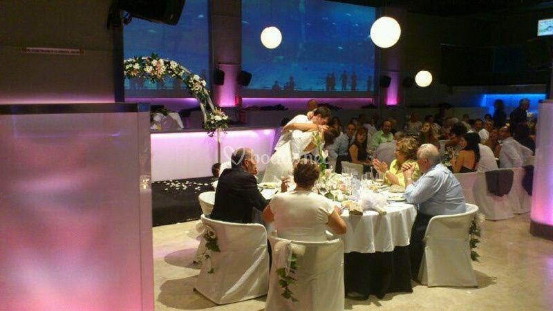 Banquete en Salones Zahora