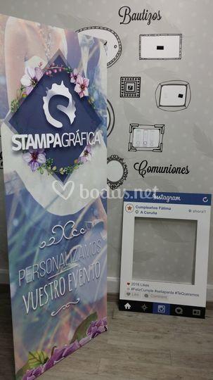 X-banner y Facebook