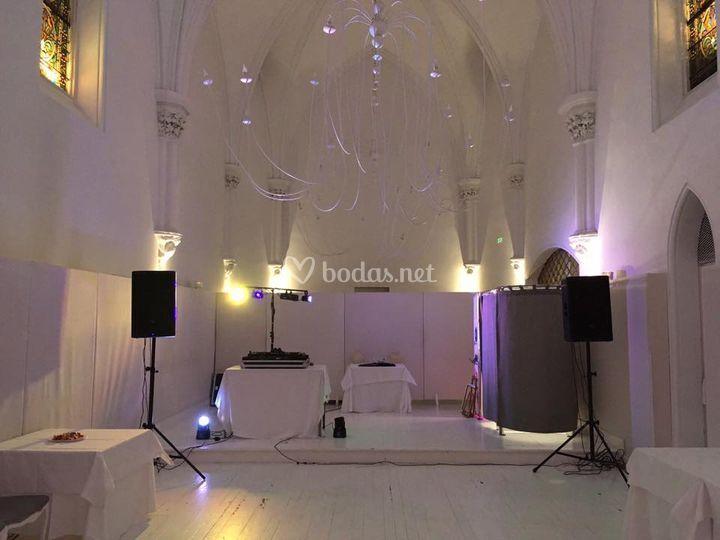 Dj Boda hotel catedral Navarra