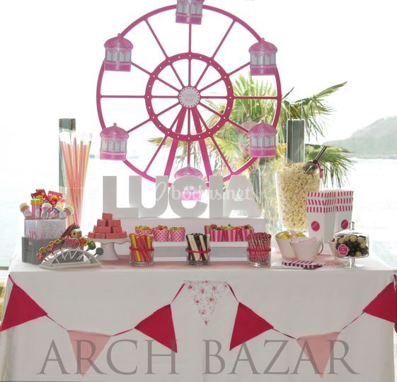 Candy Bar Feria Arch Bazar
