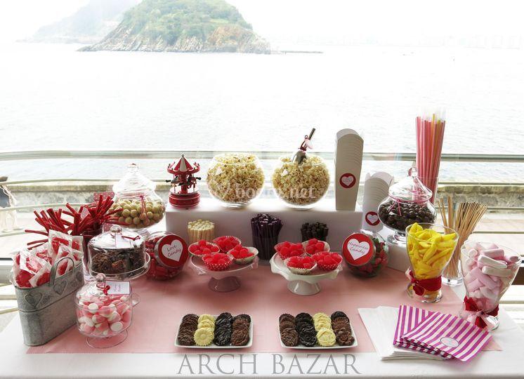 Candy Bar Amelie Arch Bazar