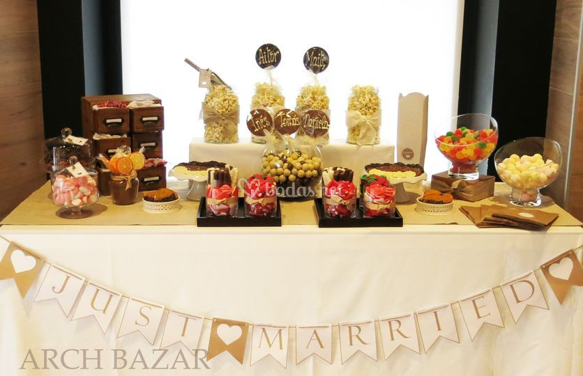 Candy Bar Sweet Arch Bazar