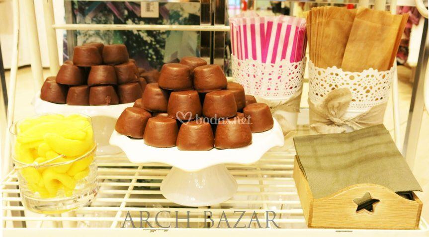 Detalle Chocolate Arch Bazar
