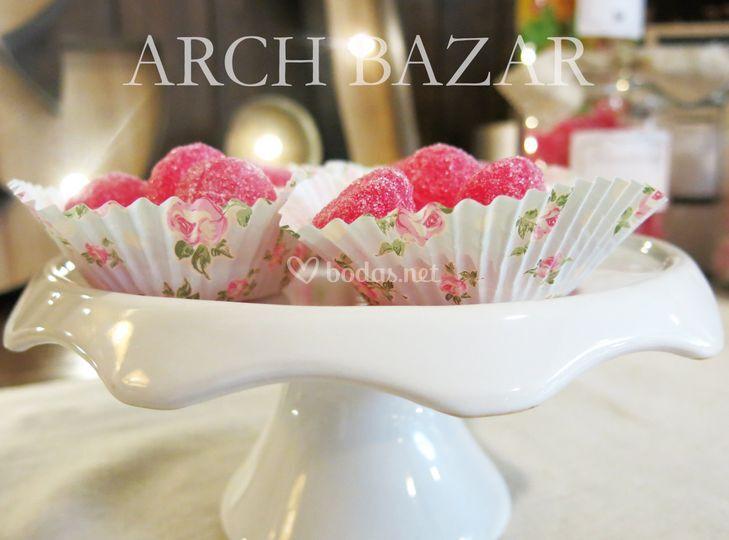 Detalle Candy Bar Arch Bazar
