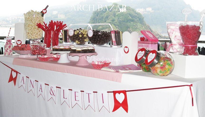 Candy Bar Arch Bazar