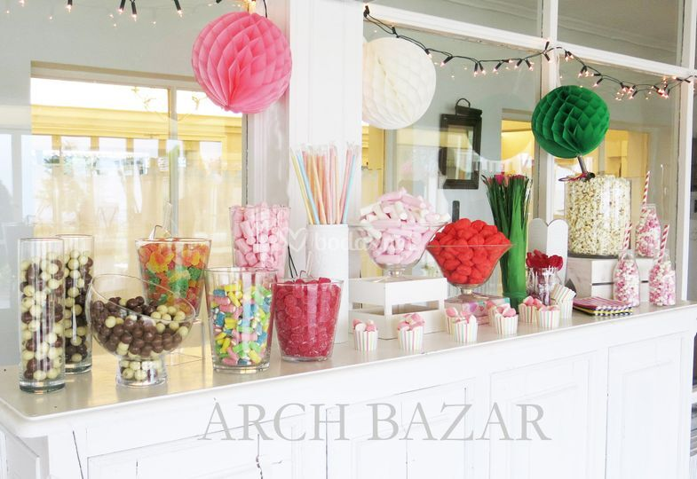 Candy Bar Arch Bazar