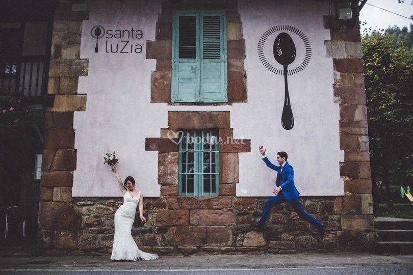 Novios Luzieros de Restaurante Santa Luzía