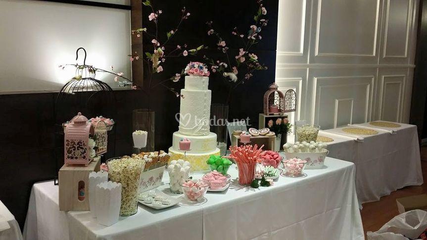 Mesa dulce boda