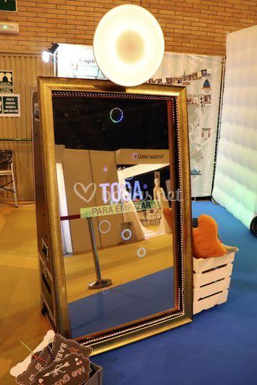Espejo mágico fotomatón