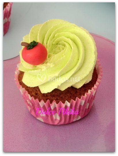 Cupcake manzana