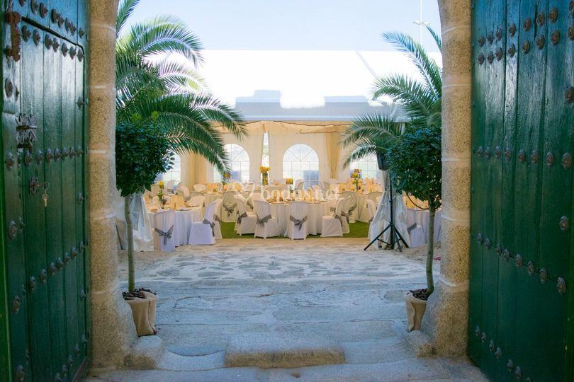 Celebración en Castillo de Caceres