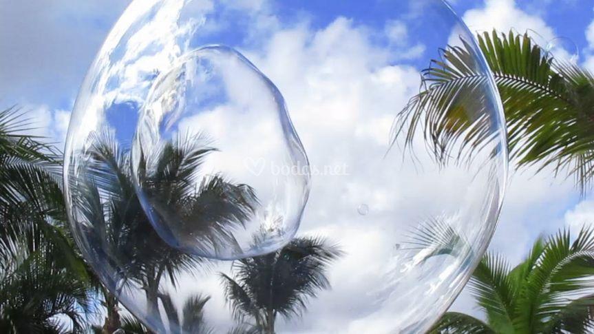 Burbujas de jabón