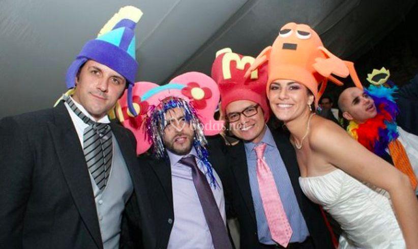 Sombreros Gomaespuma