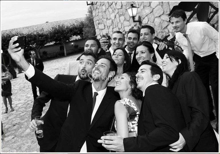 Selfie de boda