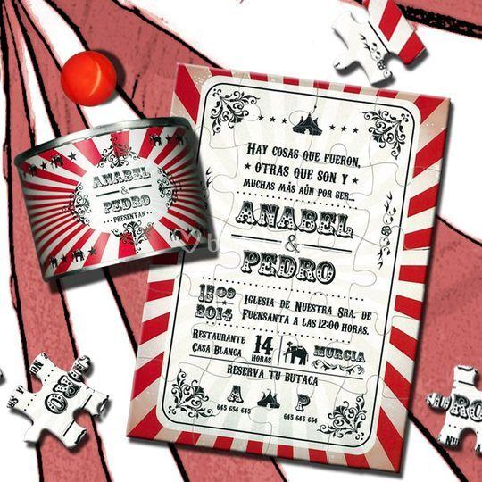 Puzzle Circus-Vintage