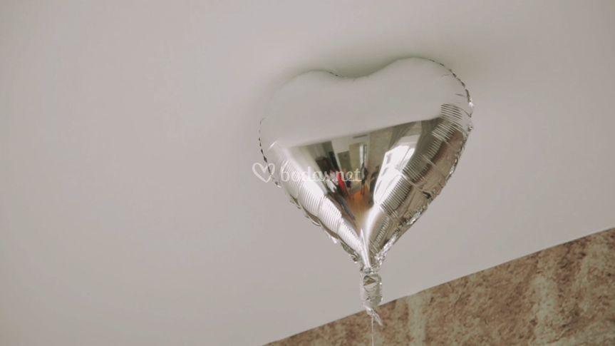 Reflejo en globo