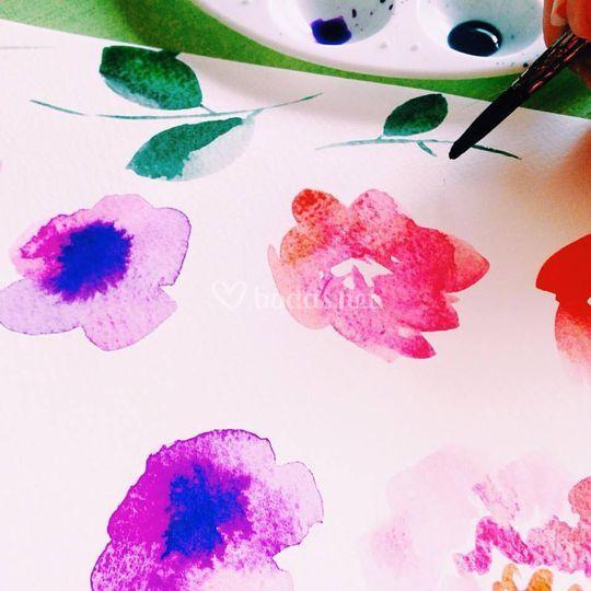 Pintadas a mano