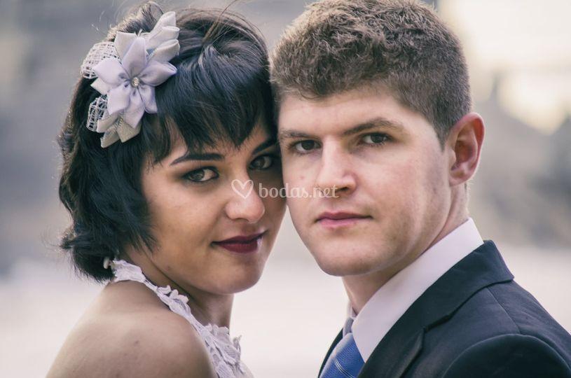 Mirada de boda