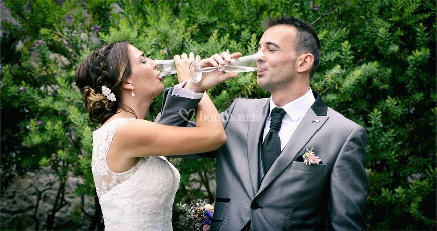 Brindis de casados