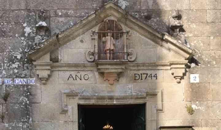 Entradas elegantes de iglesia