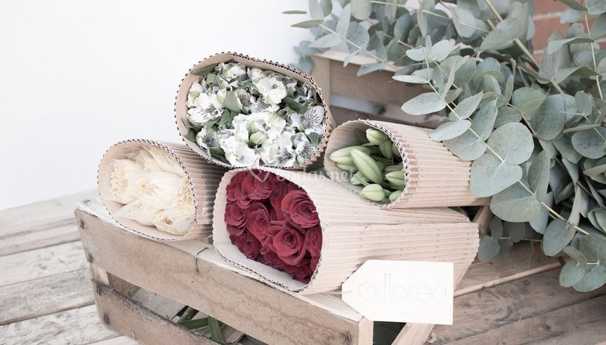 Paquetes de flores
