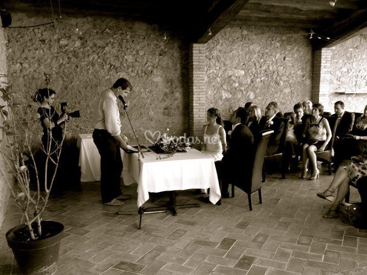 Ceremonia intima en l'Escala