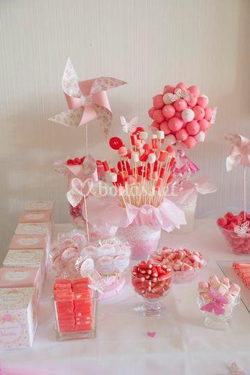 Molinillos mesas dulces