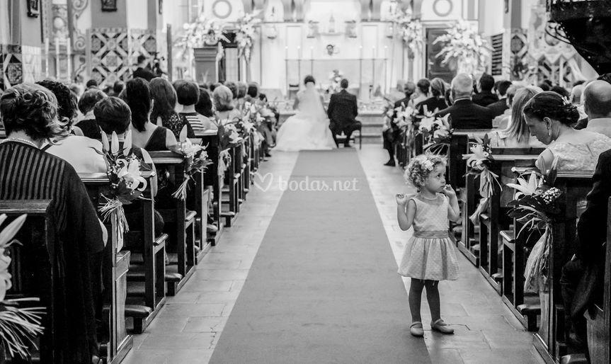 Fotografía reportaje de boda