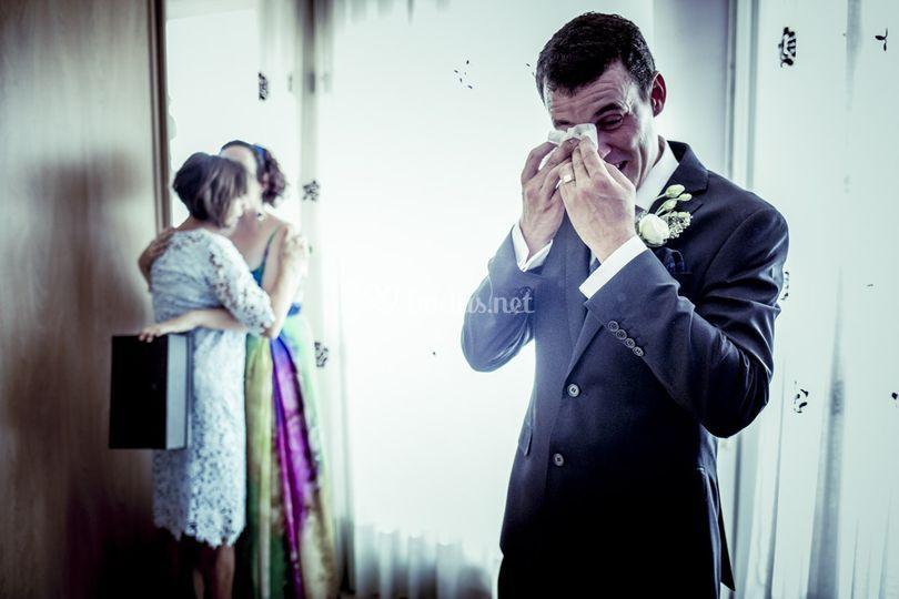 Fotografía reportaje de boda.
