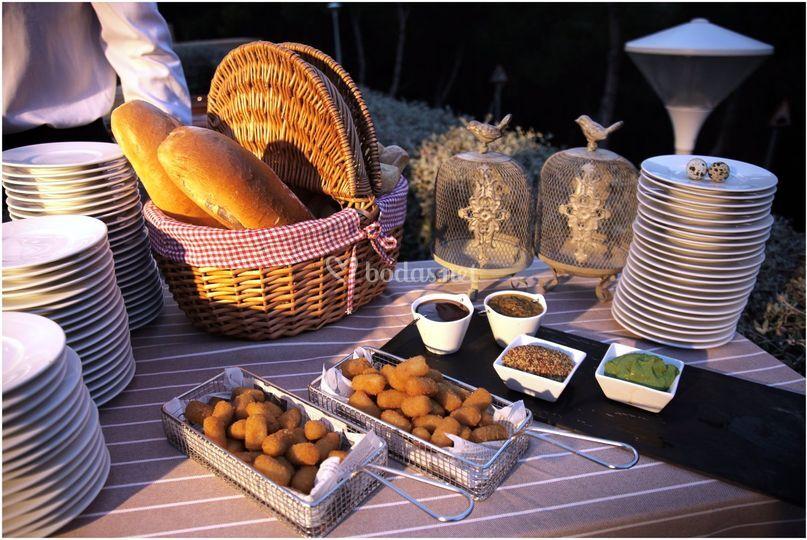 Buffet de picaditas
