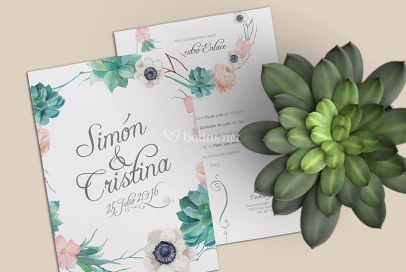 Invitaciones de la shop online