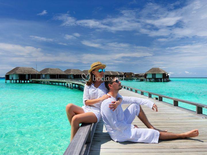 Maldivas paradisíaca