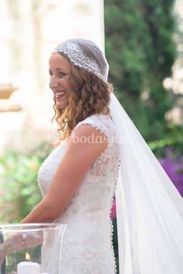 La novia, el día de su boda