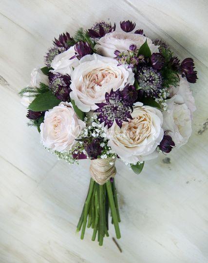 Bouquet rosa austin