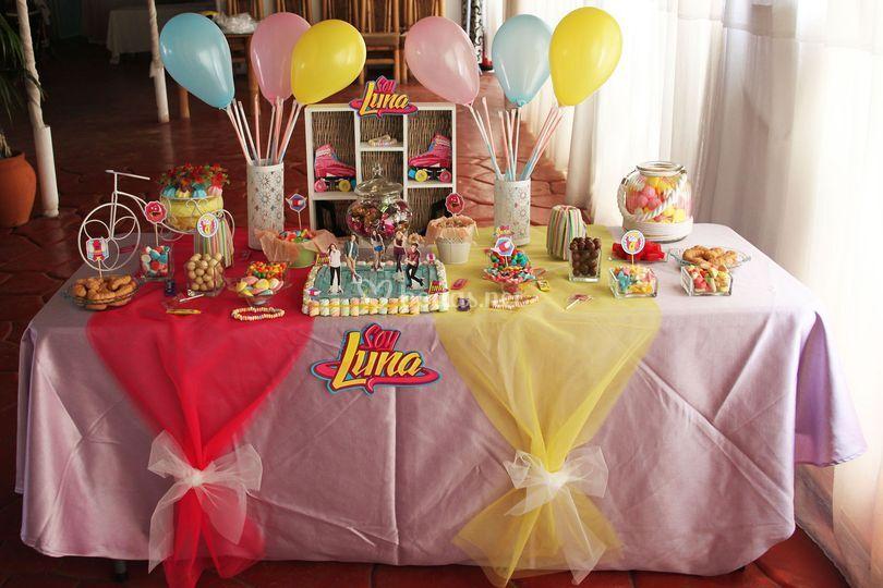 Mesa dulce Soy Luna