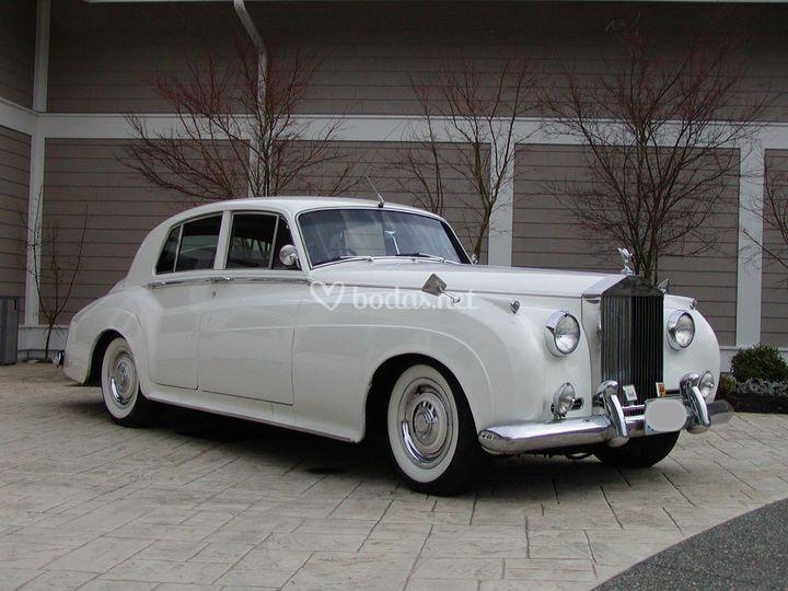 Rolls Royce blanco