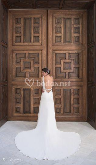Puerta salón oval