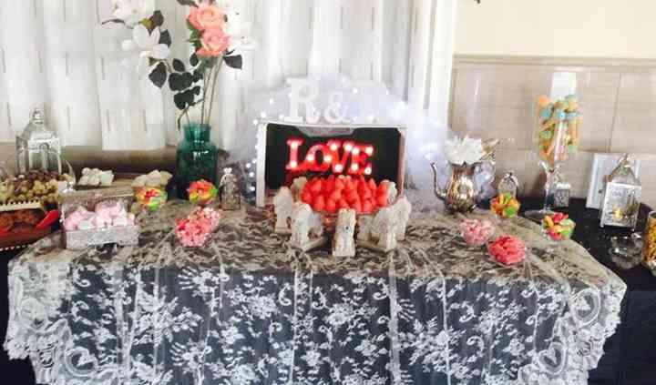 Mesa dulce alhambra