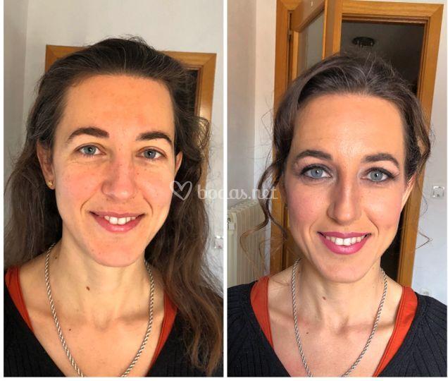 Antes y despues de Isabel