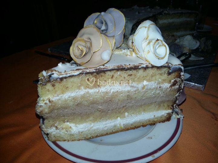 Interior tarta