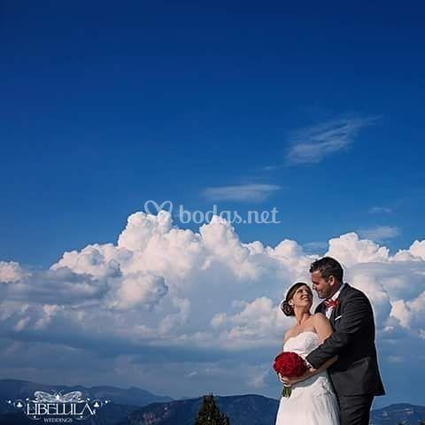Una boda con altura