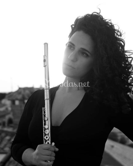Blanca Eirene, flauta