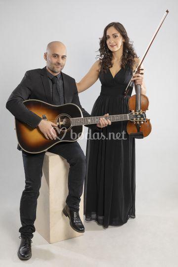 Dúo de violín y guitarra