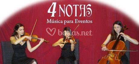 4 Notas - Trío de Cuerda