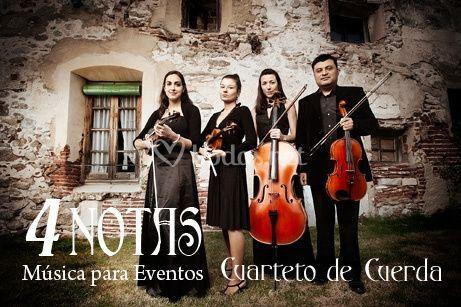 4 NOTAS - Cuarteto de Cuerda